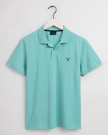 Poloshirt Piqué - Aqua Sky