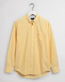 Regular Fit Broadcloth Hemd mit feinen Streifen