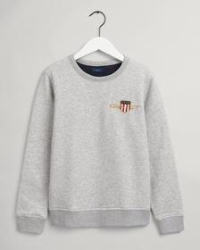 Teens Archive Shield Rundhals-Sweatshirt mit Stickerei