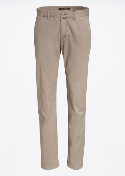 Chino, shaped fit, narrow leg, butt