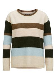 Pullover, long-sleeve, boat-neck, s