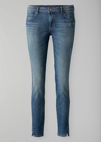 Denim Trousers, slim fit, mid rise,