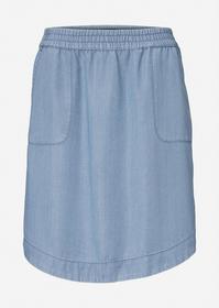 Denim Skirt, A-Shape, Knee Lenght,