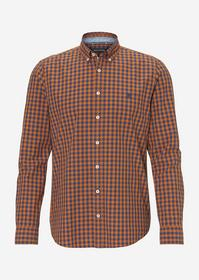 Button down, long sleeve, inserted, combo