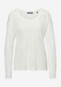 Jersey long sleeve, round neck, poc - 104/dove whi