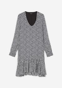 V-Neck-Kleid