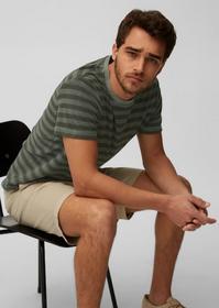 T-shirt, short sleeve, striped towe