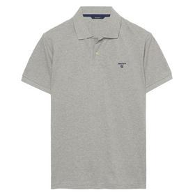 Poloshirt Piqué - Grey Melange