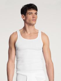 HERREN Athletic-Shirt, weiss