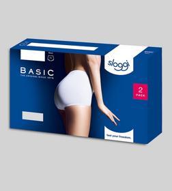 sloggi Basic+ Maxi 2P - 0003/WHITE