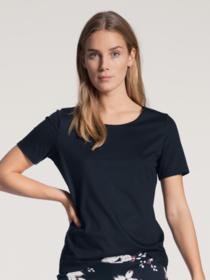 DAMEN Top kurzarm - 339/dark lapis blue