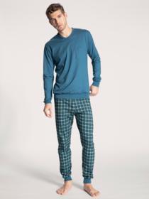 HERREN Pyjama mit Bündchen