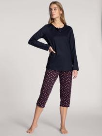 DAMEN Pyjama 3/4 - 339/dark lapis blue