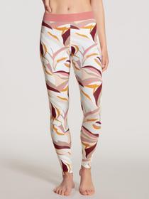 DAMEN Leggings, rosy glow print