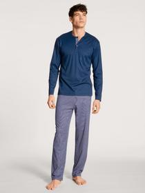 HERREN Pyjama, pottery blue