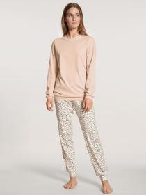 DAMEN Pyjama mit Bündchen, lace parfait pink