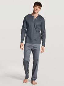 HERREN Pyjama, track grey
