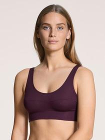 DAMEN Bustier, dark violet