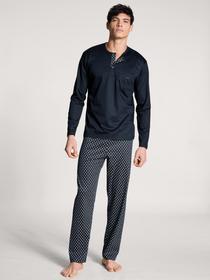 HERREN Pyjama, dark sapphire