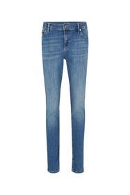Slim Fit Jeans Sol in Medium Denim Blau