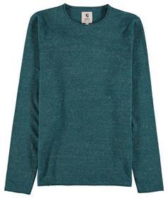 X01240_men`s pullover - 3278/3278-faded jade