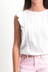 girls shirt ss - 53/53-off white