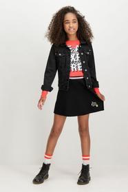 S82522_girls skirt - 1755/1755-off black