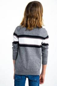 I93441_boys pullover - 66/66-grey melee
