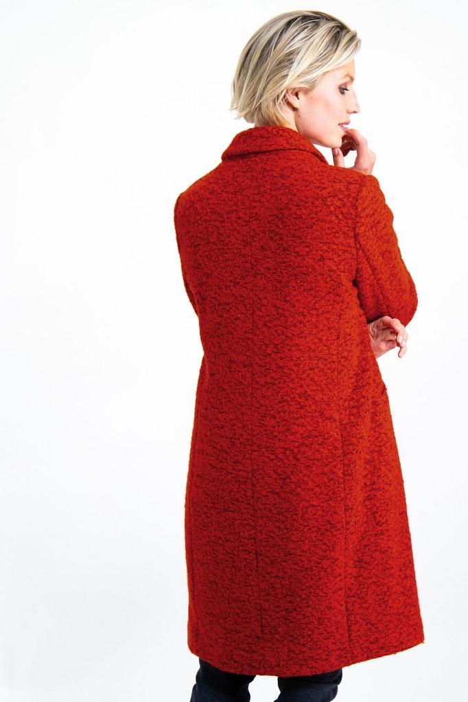 GJ900913_ladies outdoor jacket, 2045-fiery red