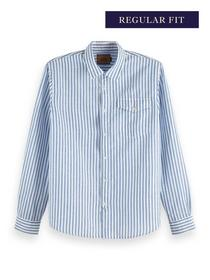 REGULAR FIT- Classic shirt in cotto - 0220/Combo D