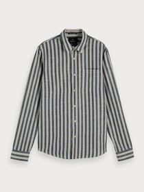 REGULAR FIT- Classic striped shirt - 0218/Combo B