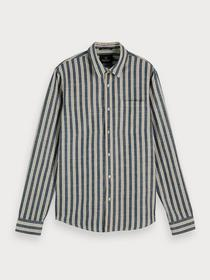 REGULAR FIT- Classic striped shirt - 0218/Combo B