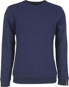 Round Neck Jacquard Sweater With Stretch