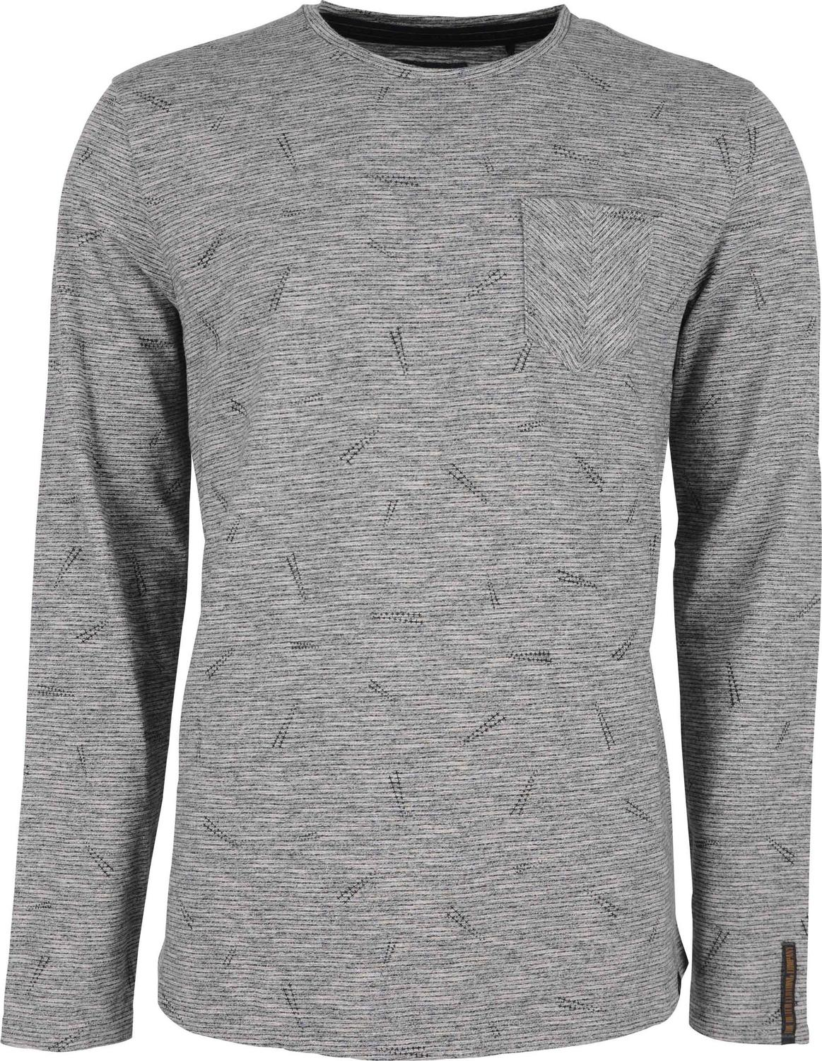 Round Neck Printed T-shirt With Chest Pocket