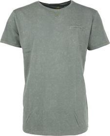 T-Shirt s/sl, R-neck, acid washed jersey