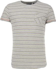 T-Shirt s/sl, R-neck, inside out fabric, pocket