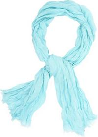 Scarf, cotton with linen, solid