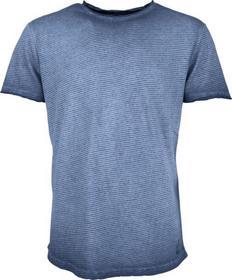 T-Shirt s/sl, R-neck, yd stripe , inside cold dyed