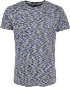 T-Shirt s/sl, R-neck, spacedyed, multi col melange