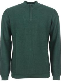 Pullover Half zip SU neck, 2 colour