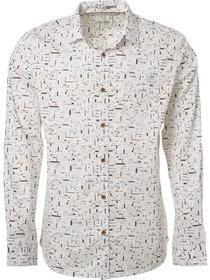 Shirt, l/sl, allover printed multi