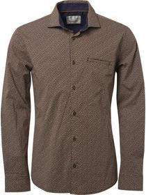 Shirt, l/sl, allover printed mini f