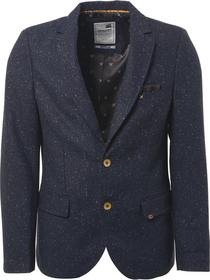 Blazer, melange tweed with wool