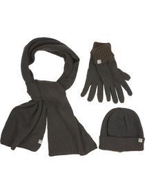 Set Beenie, glove and Scarf, basic