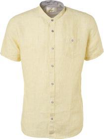 Shirt, s/sl, granddad, line