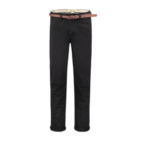 Presley Chino Pants with belt Stretch Twill