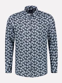 Shirt l/s Linen Flower