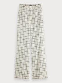 Edie Tailored wide leg pants in che