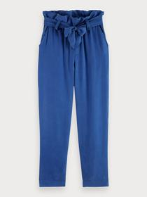 High rise ankle length pants with t