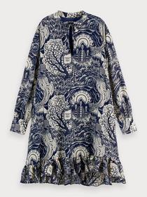 Storytelling shorter length dress w